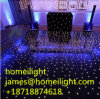 12*12FT LED Dance Floor Black and White Starlit Dance Floor for Stage Light Wedding Party Car Show