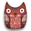 Owl Shape Printed Polyester Microfiber Decorative Cushion