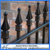 Powder Coated Galvanized Steel Black Wrought Iron Fence