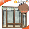 Solid Wood Aluminum Casement Windows, Perfect Wooden Window Design for Homes, Imported Solid Wood Ideal Windows