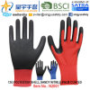 13G Polyester Shell Sandy Nitrile Palm Coated Gloves (N2001) with CE, En388, En420, Work Gloves