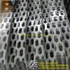 Decorative Facade Panel Punching Hole Mesh