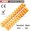 U Type Power Terminal Block Plastic Terminal with CE