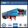 Cimc Tri-Axle 40 Feet Flat Bed Lorry Trailer