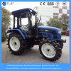70HP 4WD Agricultural Farm/Faming/Garden/Lawn/Paddy Tyre 6-Cylinder Tractor with Cabin