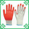 Red Smooth Coated Work Glove for Safe Working