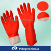 Household Rubber Latex Examination Gloves for Cleaning or Medical