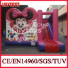 2015 Newest Colorful Inflatable Bouncer Inflatable Bouncy Castle with Small Slide (J-BC-014)