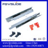 American Type Soft Closing Full Extension Concealed Satety Hidden Closet Telescopic Drawer Slide