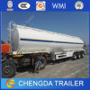 Tanker China Tri-Axle 45000liters Fuel Tank Trailer for Sale