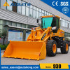 Chinese Mini Wheel Loader with Grass Fork