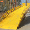 Hydraulic Container Truck Portable Forklift Ramp