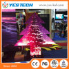 China Supplier Yestech Christmas Tree Shape LED Display Screen