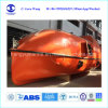 Solas 26 Persons Totally Enclosed Lifeboat C/W Rescue Boat