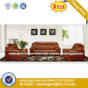 Modern Europe Design Steel Metal Leather Waiting Office Sofa (HX-F642)
