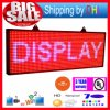 P13 LED Rolling Display RGB Outdoor 7-Color 3D Effects LED Signs 39X14inch Programmable Display Panel WiFi Wireless Control