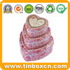 Heart-Shaped Tin Box Sets for Christmas Wedding Gift Packaging