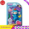 Fingerlings Baby Monkey Toy Boris Blue (Includes Bonus Stand)