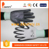 Ddsafety 2017 White Nylon with Grey Nitrile Glove