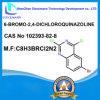 6-Bromo-2, 4-Dichloroquinazoline CAS No 102393-82-8