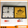 LED Advertising Panel with Clock