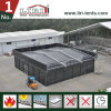 Black Color Cube Structure Thermo Roof 15X15m Tent for Outdoor Event