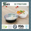 700ml/1000ml Disposable Plastic Round Bowl