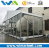 Clear Span 12m Event Tent with Glass and Glass Door