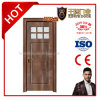 MDF Wooden Bedroom PVC Glass Door for Toliet