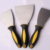 Rubber Handle Putty Knife with Carbon Steel Material Asia Market