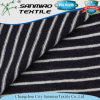 Small MOQ Indigo Textile Stripe Knitting Knitted Denim Fabric for T-Shirts