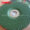 Grinding Wheel for Inox Green Color 105X2.5X16.0mm