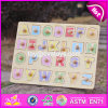 Top Fashion Educational Toddlers Wooden Alphabet Puzzle W14m101