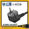 Europe VDE Approval EU 10A 250V AC Power Cord Schuko Plug H05VV-F
