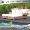 Well Furnir Chaise Daybed with Cushions