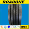 Roadone Brand High Quality All Steel Tyre Hf21 Pattern 11r22.5 and 295/80r22.5 Inter-City Series Bus Tyre