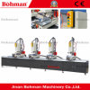 Four Head Window and Door CNC Drilling and Milling Machine