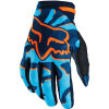 Blue Women′s Full Finger Cycling Motor Racing Glove (MAG62)