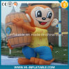 Custom Made Advertising Inflatable Monkey Cartoon / Mascot Model, Inflatable Animal Replicas Cartoon for Sale