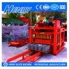 Qtj4-26c Semi-Automatic Hollow Concrete Blocks Solid Pavers Block Making Machine in Kenya