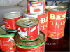 100% Purity, Brix 22-24%, 28-30%, 36-38% Canned Tomato Paste, a/B Value 2.0 or 2.15