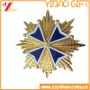 Zinc Alloy Gold Medal Badge /Soft Enamel Badgewith High Quality (YB-SM-34)