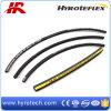Black Wrapped Cover High Pressure Rubber Hydraulic Hose SAE100 R6