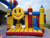 2016 Hot Selling Smile Face Inflatable Bouncer Combo for Kids