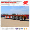 Hot Sale 40 Tons Flatbed Cargo Trailer for Sudan Market