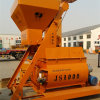 Double (JS1000) Horizontal Axle Force Concrete Mixer