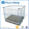 Euro Type Galvanized Stackable Wire Mesh Cage Pallet