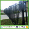 Australia Standard Black Powder Coated 2.1X2.4m Spear Top Steel Fence