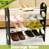 Living Room Custom Made Corner Plastic Shoe Rack