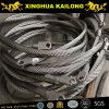 AISI304 Stainless Steel Wire Rope 1*19 6mm